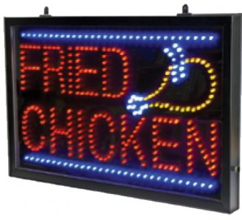 Fried Chicken LED Sign2